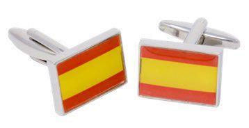 Gemelos Bandera España Ref. GE004