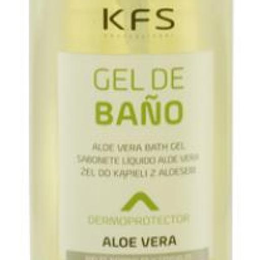 GEL DE BAÑO Dermatologico Aloe Vera KFS 1000 ml.