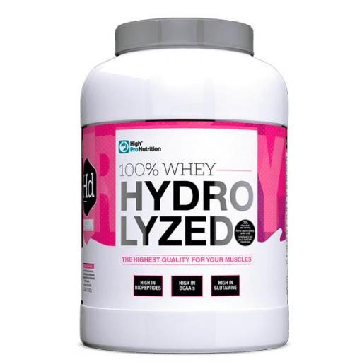 100% Whey Hydrolyzed  PROTEINA HIDROLIZADA