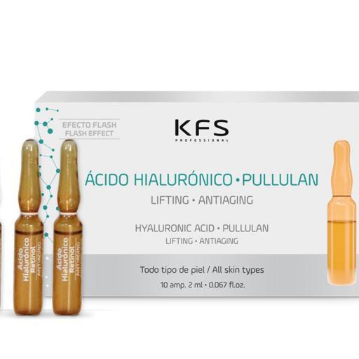 AMPOLLAS FACIALES ACIDO HIALURONICO PULLULAN