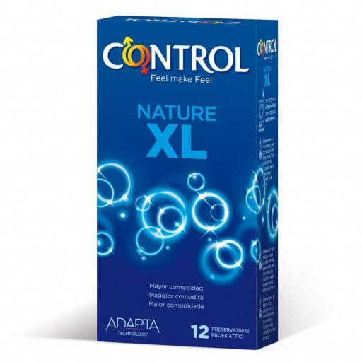 PRESERVATIVOS CONTROL ADAPTA NATURE XL