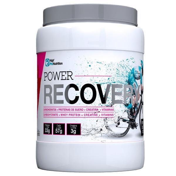 POWER RECOVERY. Carbohidratos + Proteinas de suero + Creatina + Vitaminas
