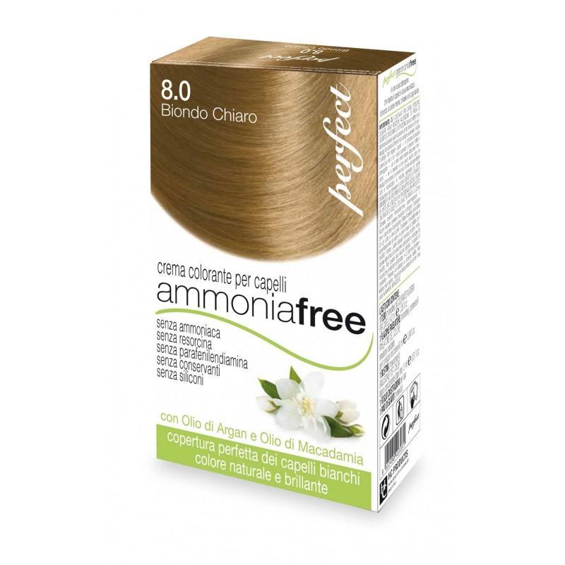 Rubio claro 8.0 - Tinte Perfect ammonia free