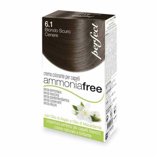 Rubio oscuro ceniza 6.1 - Tinte Perfect ammonia free