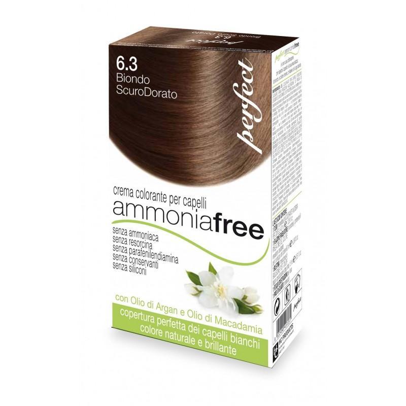 Rubio oscuro dorado 6.3 - Tinte Perfect ammonia free