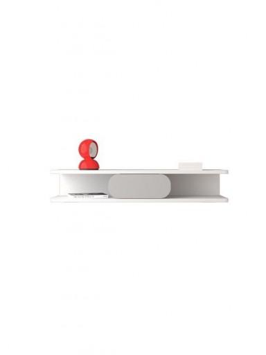 Consola recibidor Soft blanca-gris [2]