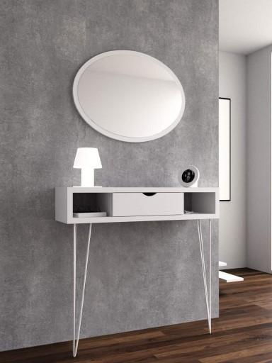 Espejo de pared Elipse Lacado [3]