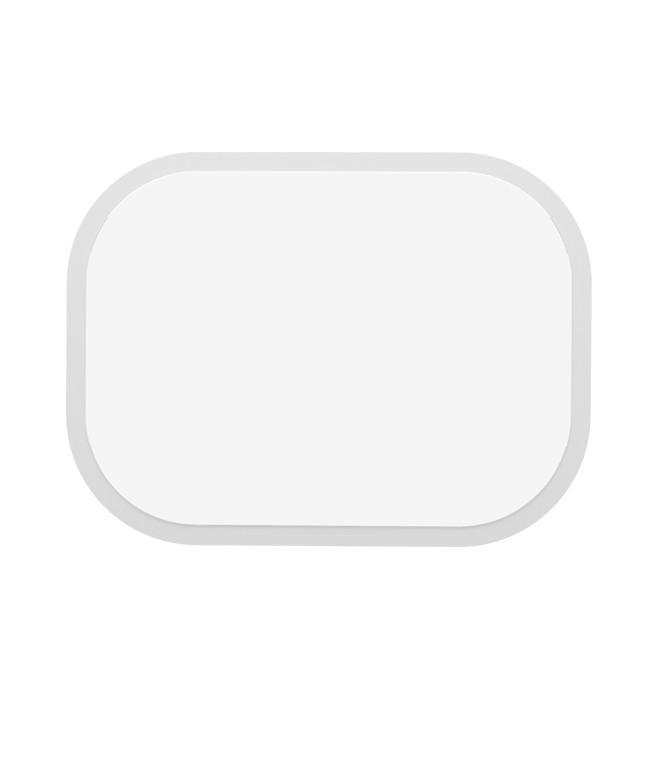 Espejo de pared Oval Lacado