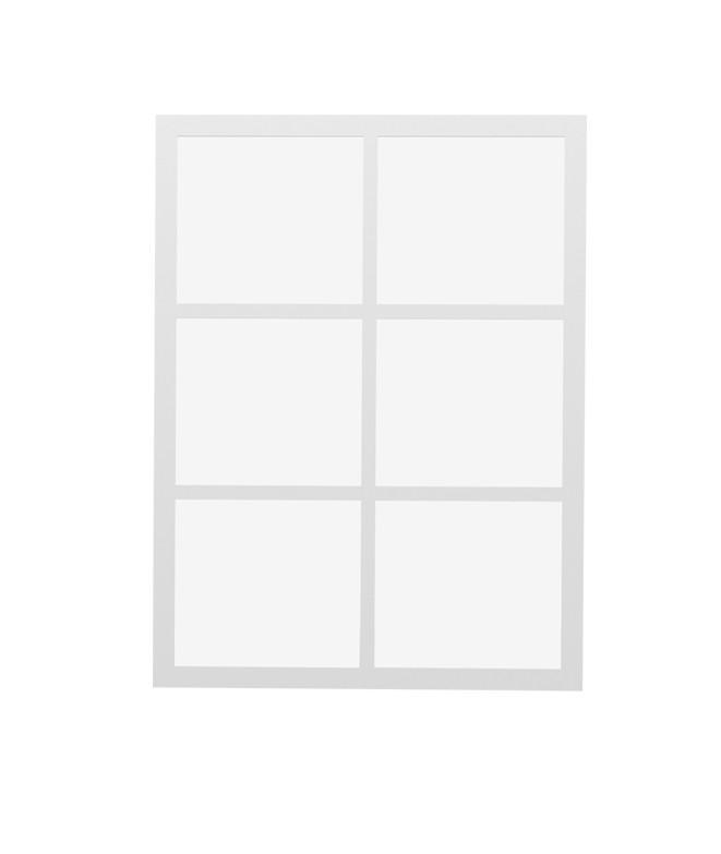 Espejo de pared Ventana Lacado