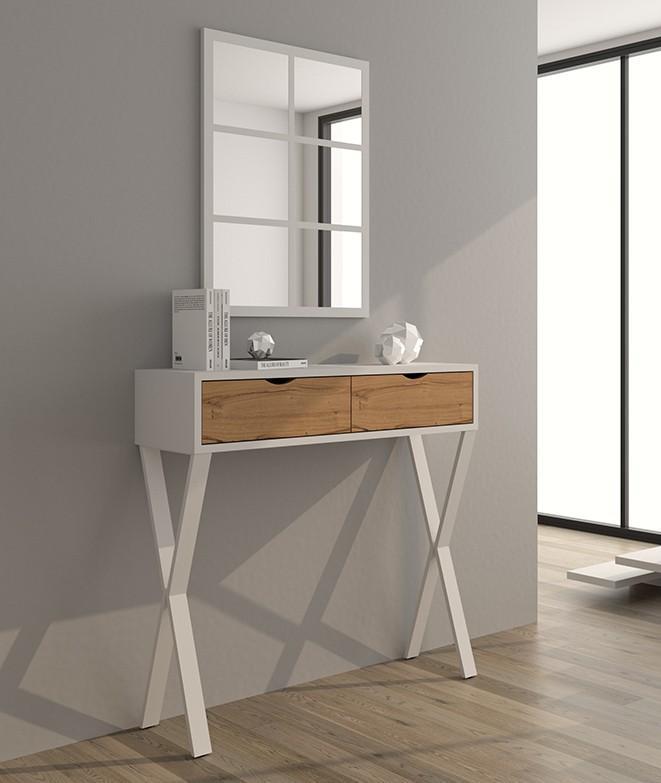 mueble de entrada de diseño