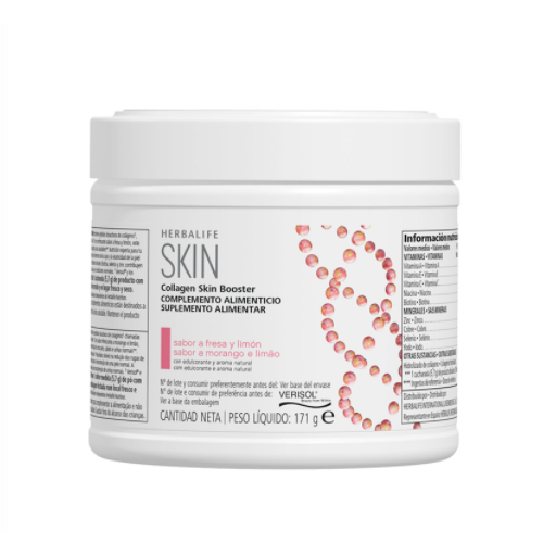 Collagen Skin Booster - Fresa y limón - 171 g