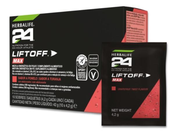 LiftOff Max de H24 - Sabor a Pomelo