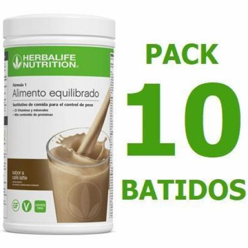 Pack 10 Batidos Fórmula 1 [0]