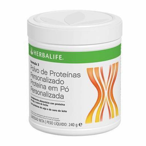 Fórmula 3 Polvo de Proteínas Personalizado [0]