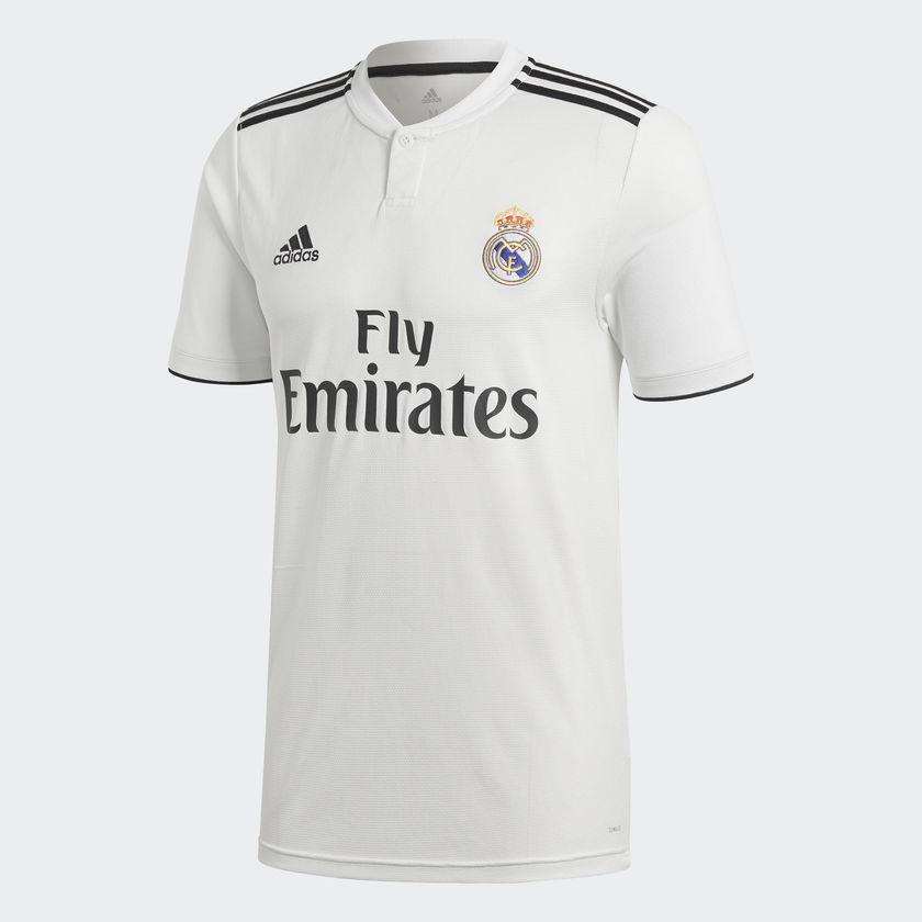Camiseta de la 1ª equipación del Real Madrid 2018-19 CG0550