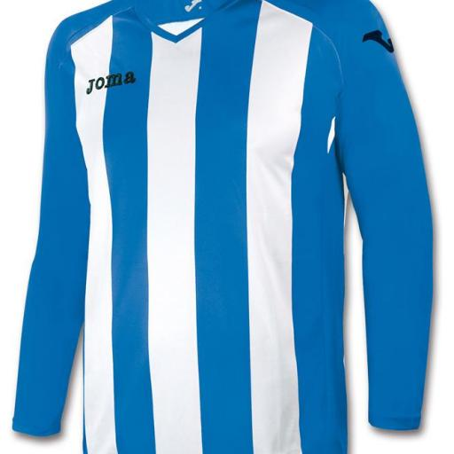 CAMISETA PISA 12 ROYAL-BLANCO M/L 1202.99.005