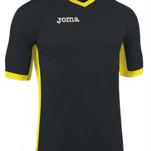 CAMISETA EMOTION NEGRO M/C 100402.100