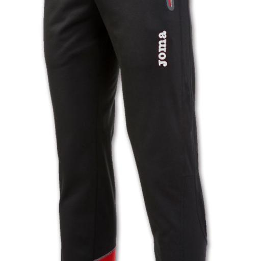 PANTALON LARGO ELITE V NEGRO-ROJO 100399.106