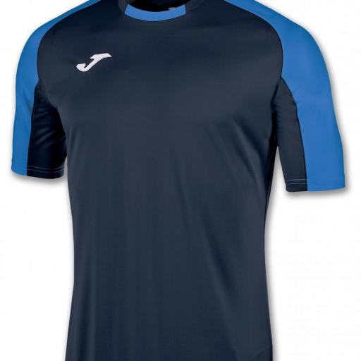 CAMISETA JOMA ESSENTIAL MARINO ROYAL 101105.307 [0]