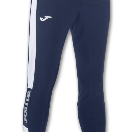 PANTALON LARGO CHAMPION IV MARINO-BLANCO 100761.302