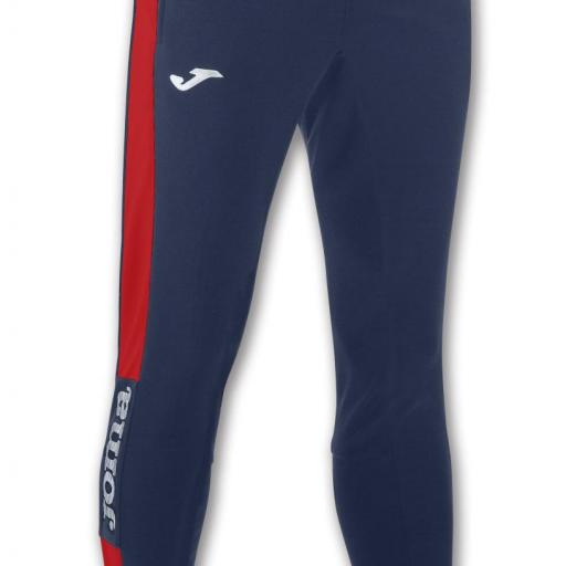 PANTALON LARGO CHAMPION IV MARINO-ROJO 100761.306
