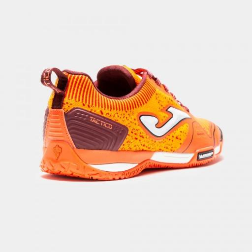 ZAPATILLA JOMA MICHELIN - TACTICO 908 NARANJA INDOOR TACTW.908.IN [3]