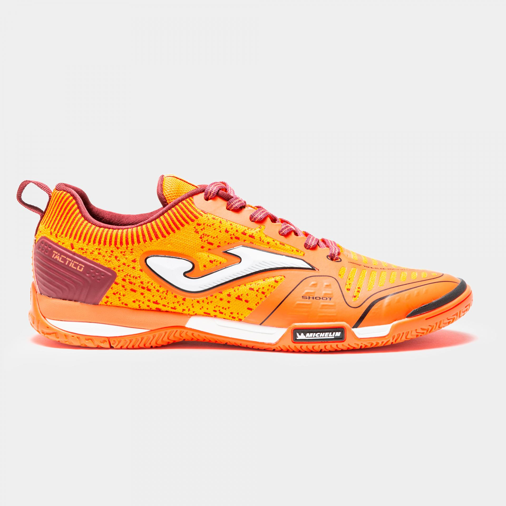 ZAPATILLA JOMA MICHELIN - TACTICO 908 NARANJA INDOOR TACTW.908.IN