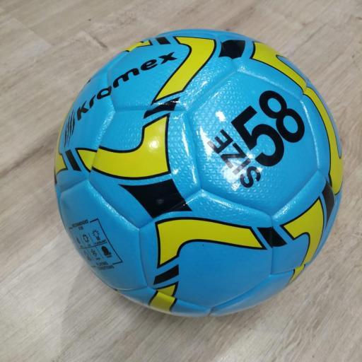 Balon Futbol Sala Kromex de 58 cm Azul [2]