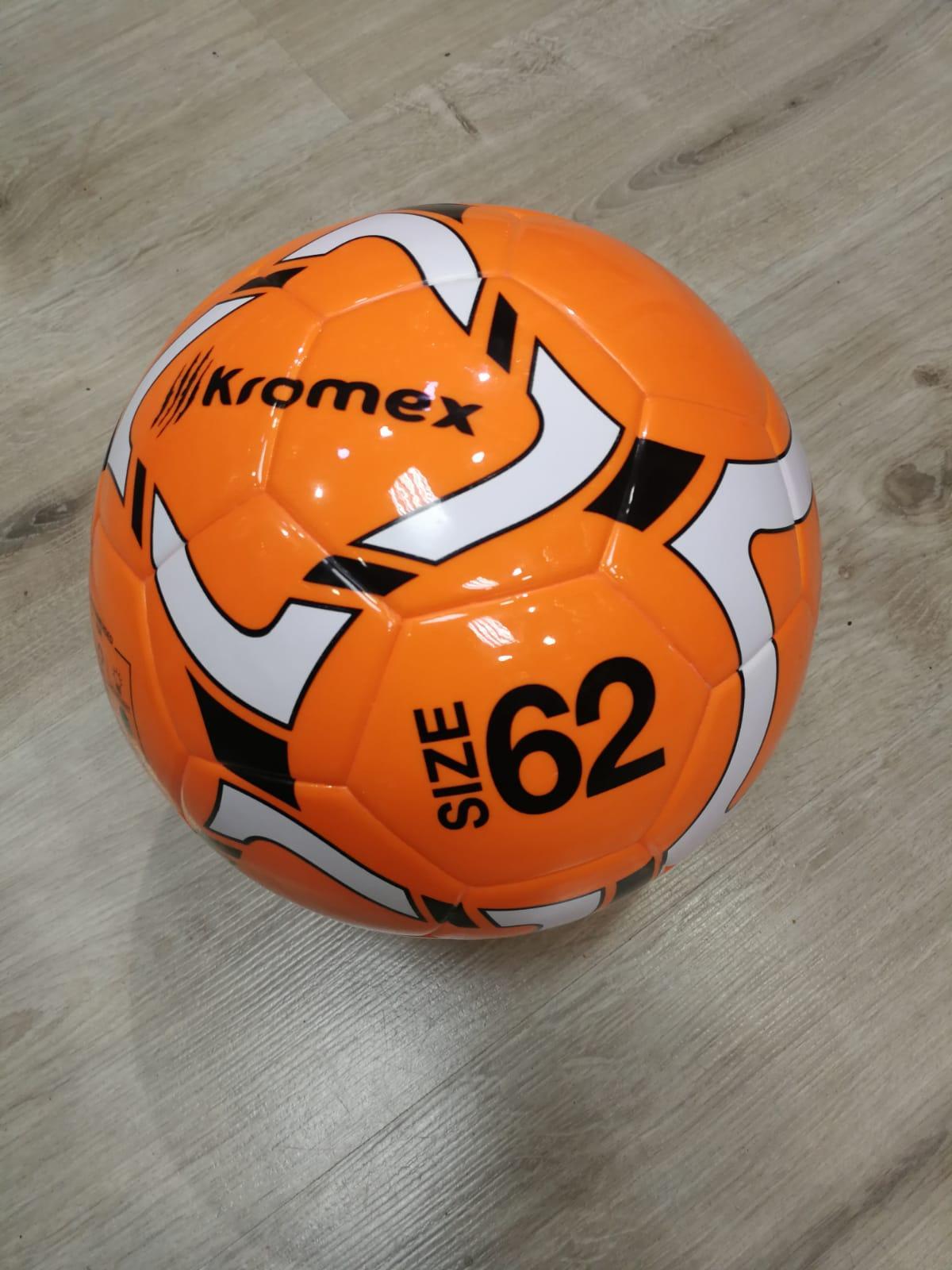 Balon Futbol Sala Kromex de 62 cm Naranja