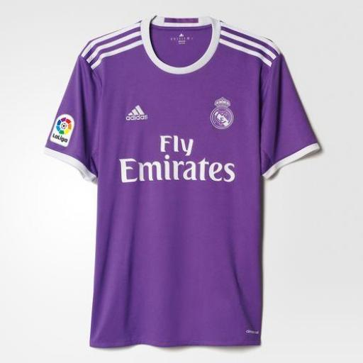 CAMISETA SEGUNDA EQUIPACIÓN REAL MADRID ADULTO AI5158