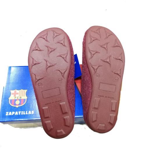Zapatillas FC Barcelona Rojo Barça Letras CC2B-40 [2]