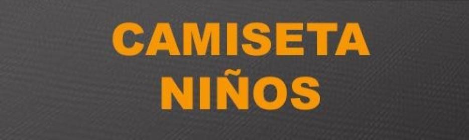 CAMISETAS NIÑO CASUAL