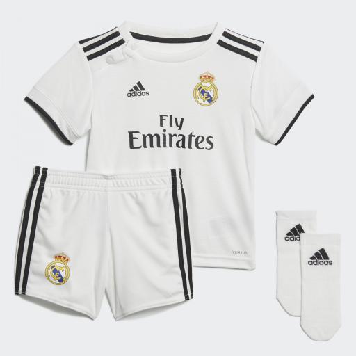 1ª Mini equipación del Real Madrid 2018-19 Ref CG0538