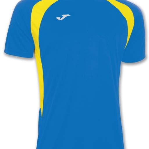 CAMISETA CHAMPION 3 ROYAL / AMARILLO