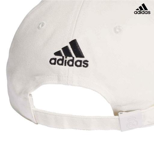 Gorra Real Madrid CY5600 blanca [2]