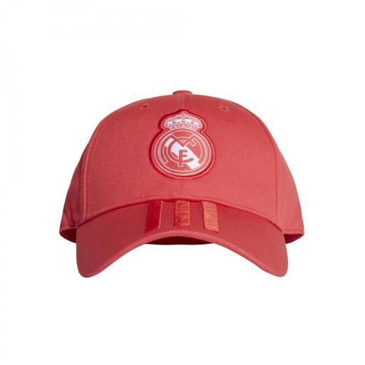 GORRA REAL MADRID ROJO CZ6101 REAL 3S CAP [2]
