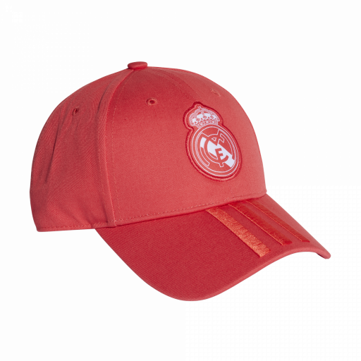 GORRA REAL MADRID ROJO CZ6101 REAL 3S CAP