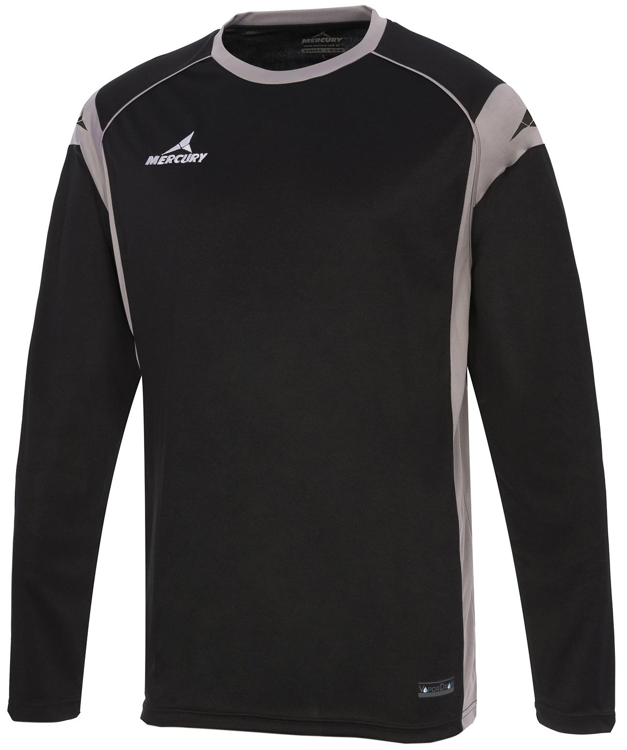 Camisa de Portero Mercury Palermo Negro / Gris .
