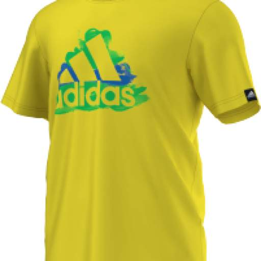CAMISETA COUNTRY LOGO AMARILLO D89133