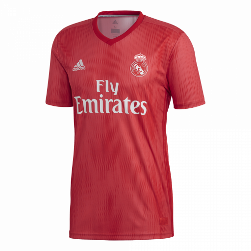 CAMISETA REAL MADRID ADULTO ROJO DP5445