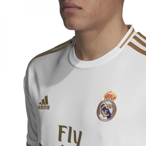 Camiseta Real Madrid Adulto DW4433 Primera equipacion 2019 / 2020  [2]