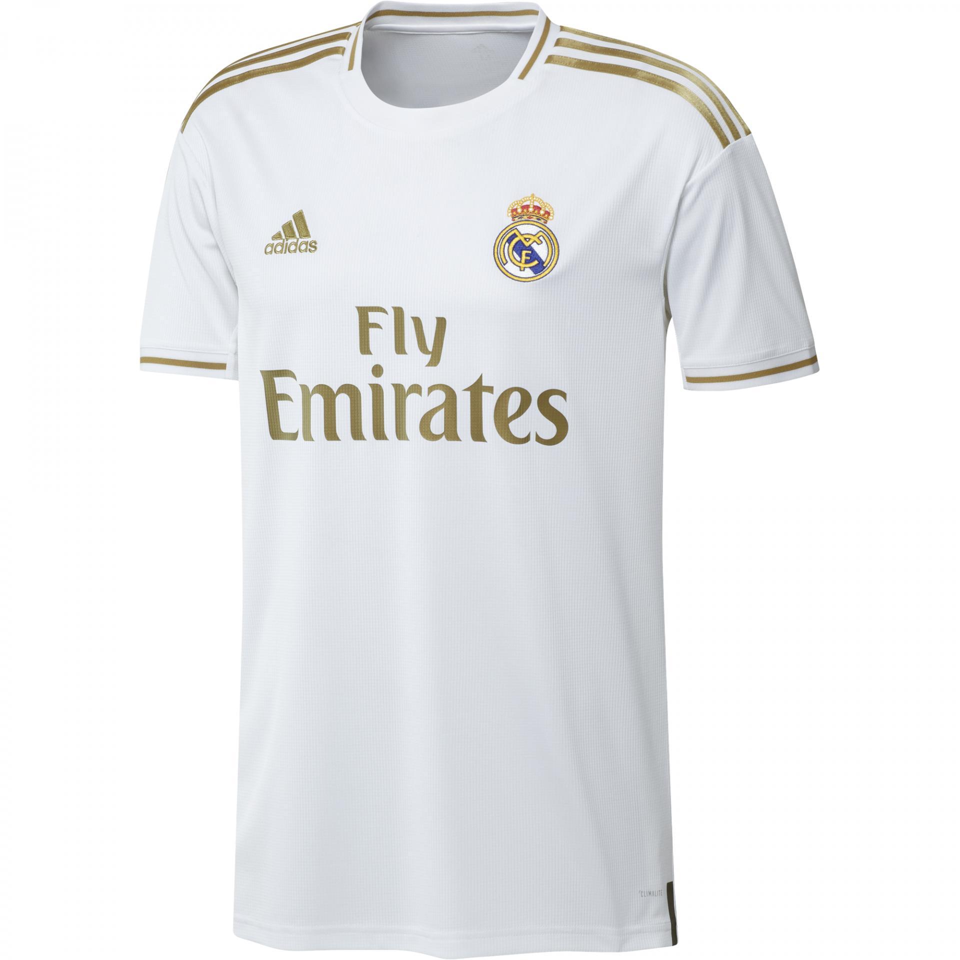Camiseta Real Madrid Adulto DW4433 Primera equipacion 2019 / 2020