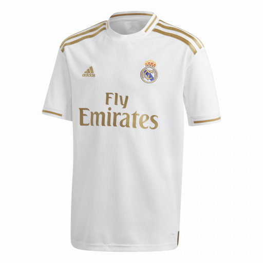 CAMISETA REAL MADRID JUNIOR DX8838 BLANCA
