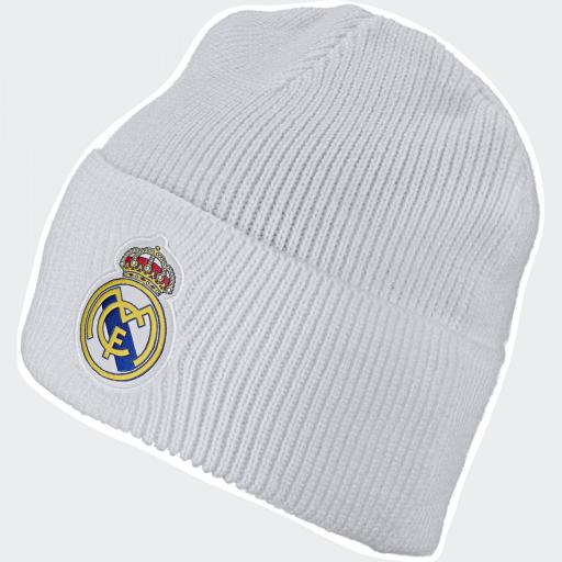 GORRO DE LANA REAL MADRID BLANCO DY7725