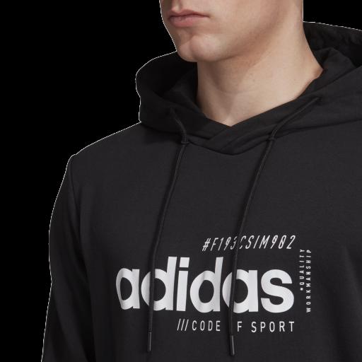 Sudadera Adidas de Algodon con Capucha EI4622 [3]