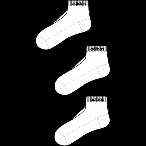 Calcetines adidas hc tobillo 3pp FJ7715 [1]