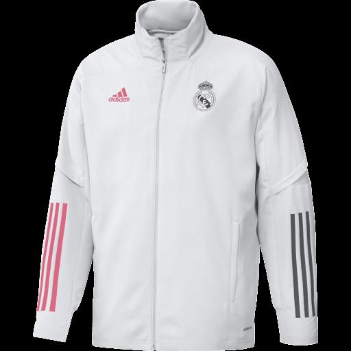 Chaqueta chandal FQ7861 Real Madrid Pre JKT blanco