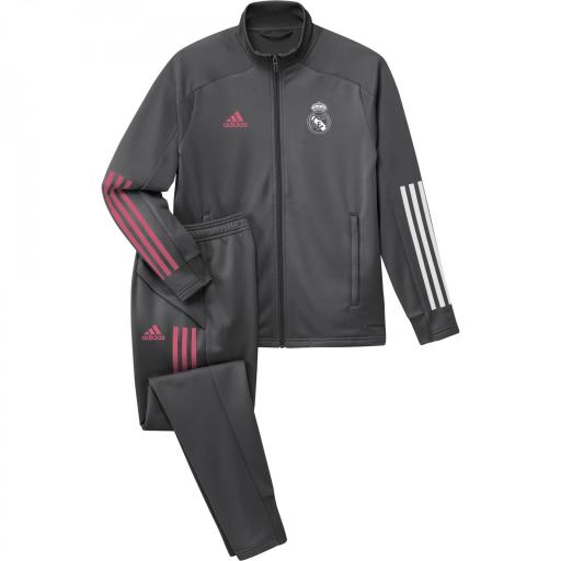 Chandal Real Madrid niño FQ7870 REAL TK SUIT Y GRICIN