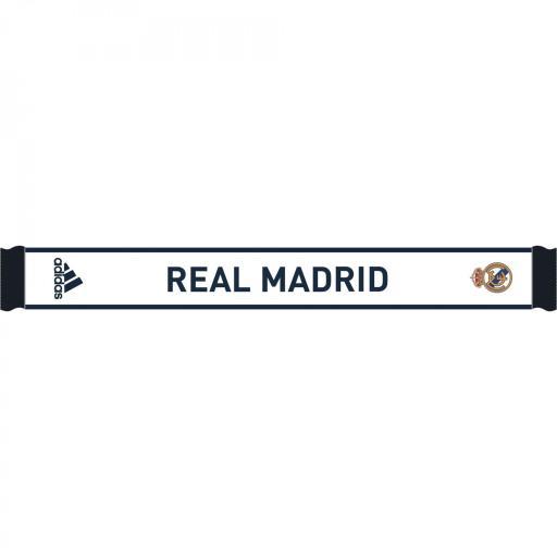 Bufanda Real Madrid FR9741 REAL SCARF BLANCO