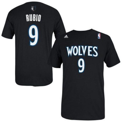 ADIDAS NBA CAMISETA GAMETIME WOLVES RICKY RUBIO G91807